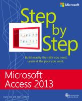 Ms Access 2013 Step By Step.pdf