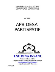 Modul Penyusunan APB Desa.doc