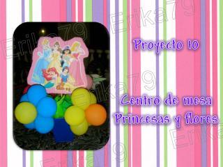 centros 10. princesas y flores con globos.pdf