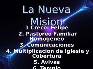 La Nueva Mision.ppt