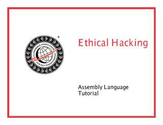 CEHv6 Module 29 Assembly Language Tutorial.pdf