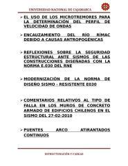 temas diversos - modernizacion de la norma de diseño sismo -resistente e -030, puentes arco atirantados continuos , ....doc