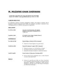 MUZAFFAR KHAN SHERWANI.doc