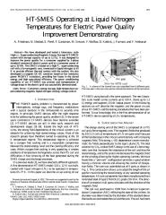 HT SMES Operating at Liquid Nitrogen Temperatures for Electric Power Quality.pdf