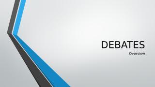 DEBATES.pptx