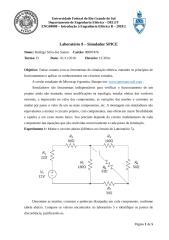 Laboratório 9 - Simulador SPICE.doc