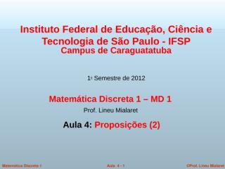 MD1-Aula4-1Sem2012.ppt