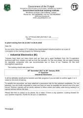 Inplant training & permission slip IE-4th-Winter Seasion.doc