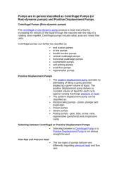 Pumps  classification.doc