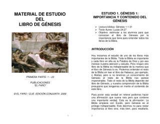 MATERIAL DE ESTUDIO DEL LIBRO DE GENESIS - Editorial El Faro - Libro.pdf